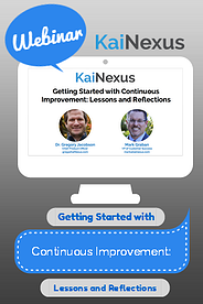 Watch webinar: getting started with continuous improvement