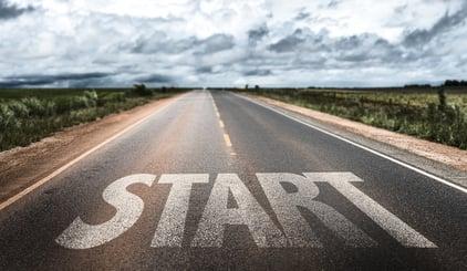 Start written on rural road.jpeg