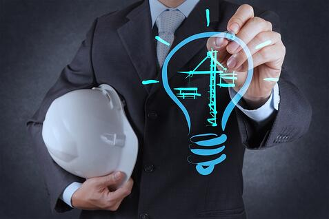 engineer drawing lightbulb and construction as concept.jpeg