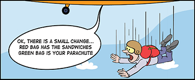 Change management comic
