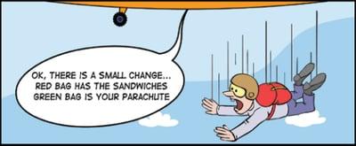 Change management comic