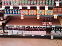 empty-shelf