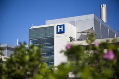 hospital exterrior - healthcare