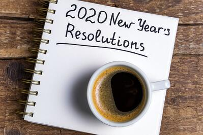 2020 New Year's resolutions.