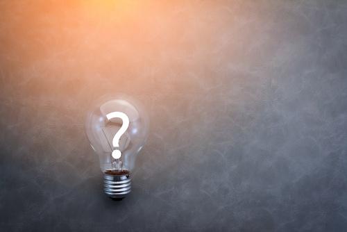 Question Lightbulb