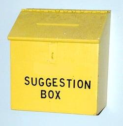 electronic suggestion box