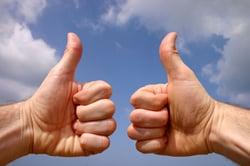 thumbs-up-blue-sky