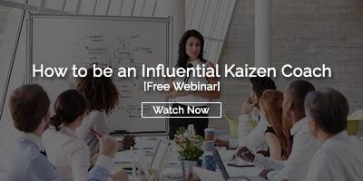 How to be an Influential Kaizen Coach
