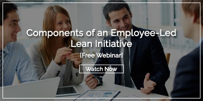 [Watch Now] Components of an Employee-Led Lean Initiative