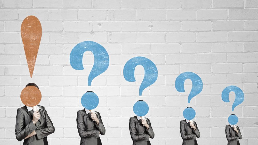 Big question in head